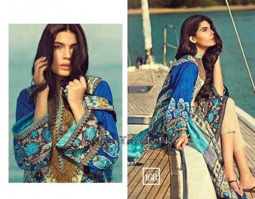 Sana Safinaz Summer Lawn Collection 2015 (23)