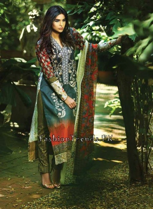 So Kamal Lawn Collection 2015 by AFH (6)