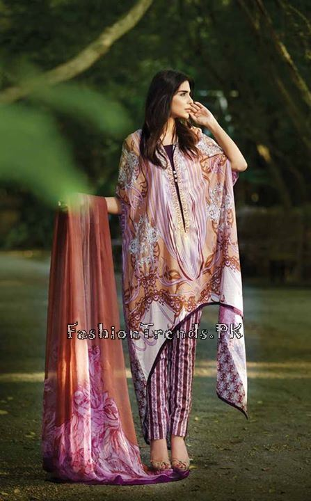 So Kamal Lawn Collection 2015 by AFH (7)