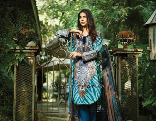 So Kamal Lawn Collection 2015 by AFH (13)