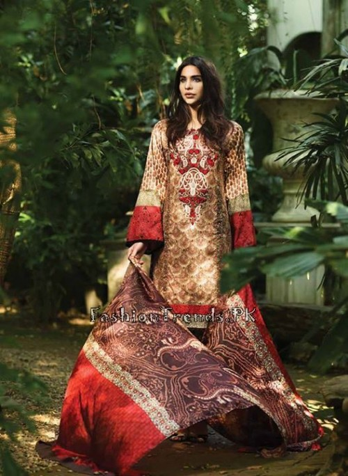 So Kamal Lawn Collection 2015 by AFH (16)