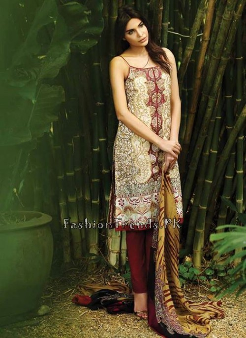 So Kamal Lawn Collection 2015 by AFH (17)