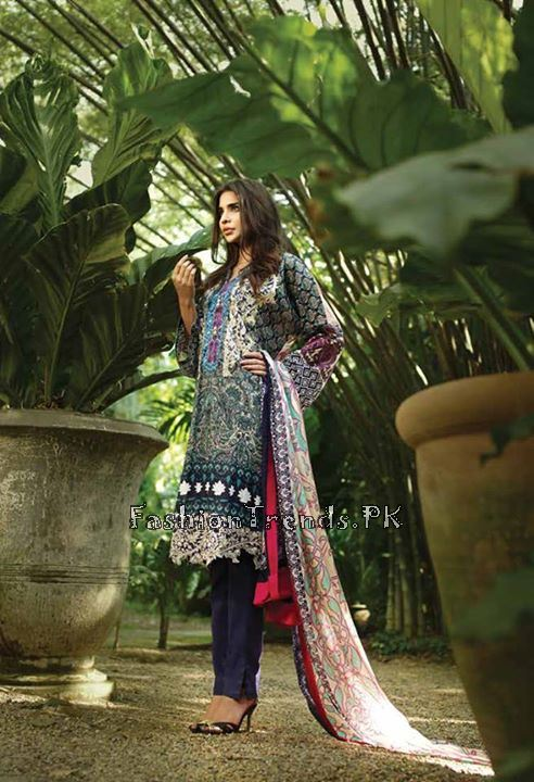 So Kamal Lawn Collection 2015 by AFH (19)