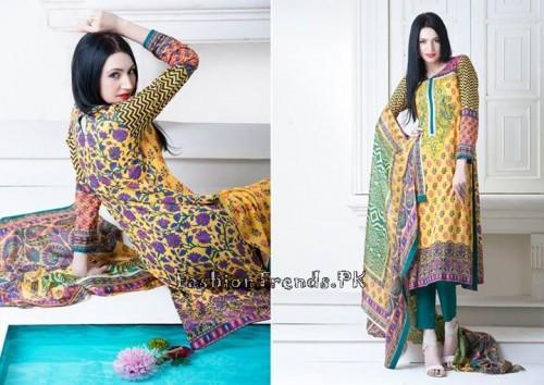 Yellow Women Spring Dresses 2015 (8)