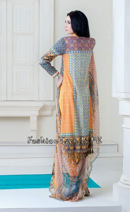 Yellow Women Spring Dresses 2015 (14)