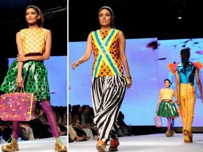 Karachi Fashion Week 2015 Summer Dresses Pics