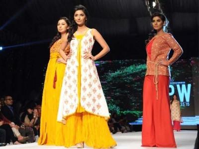 Karachi Fashion Week 2015 Spring Dresses