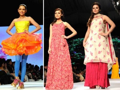 Karachi Fashion Week 2015 New Summer Dresses