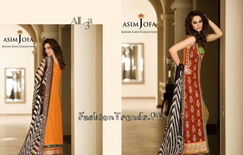 Asim Jofa Luxury Lawn Collection 2015 (2)