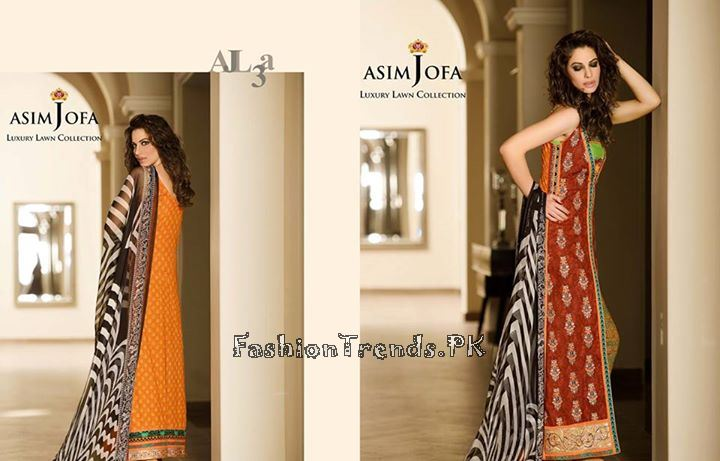Asim Jofa Lawn Collection 2015 For Women