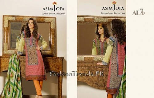 Asim Jofa Luxury Lawn Collection 2015 (5)
