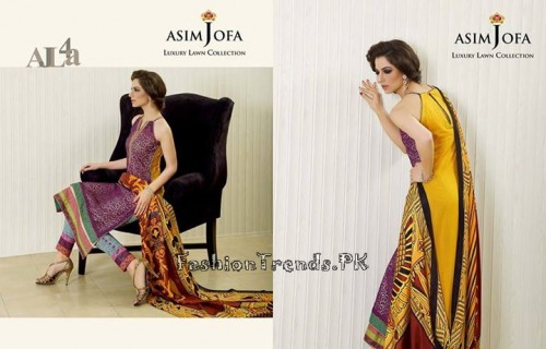 Asim Jofa Luxury Lawn Collection 2015 (8)
