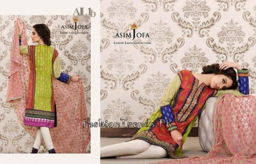 Asim Jofa Luxury Lawn Collection 2015 (11)