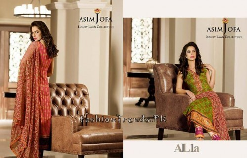 Asim Jofa Luxury Lawn Collection 2015 (12)