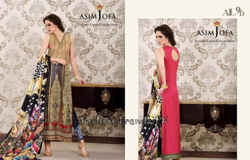 Asim Jofa Luxury Lawn Collection 2015 (13)