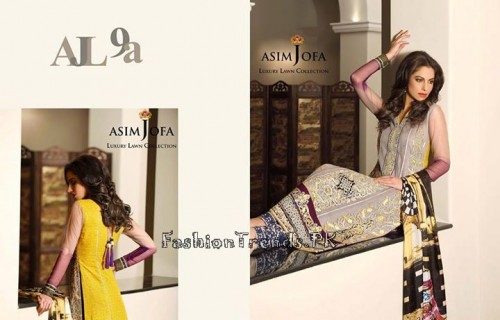 Asim Jofa Luxury Lawn Collection 2015 (14)
