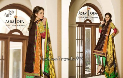 Asim Jofa Luxury Lawn Collection 2015 (15)