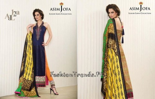 Asim Jofa Luxury Lawn Collection 2015 (16)