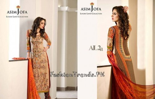 Asim Jofa Luxury Lawn Collection 2015 (18)
