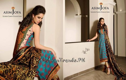 Asim Jofa Luxury Lawn Collection 2015 (20)
