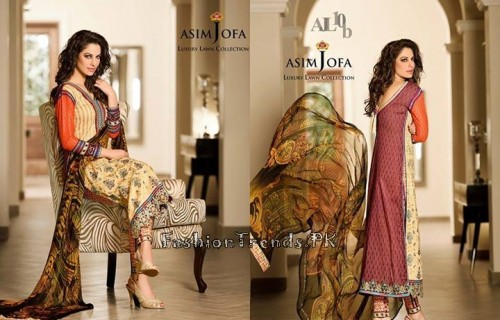 Asim Jofa Luxury Lawn Collection 2015 (21)