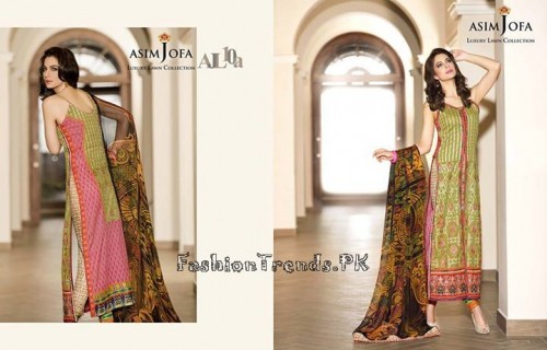 Asim Jofa Luxury Lawn Collection 2015 (22)
