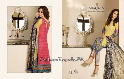 Asim Jofa Luxury Lawn Collection 2015 (23)