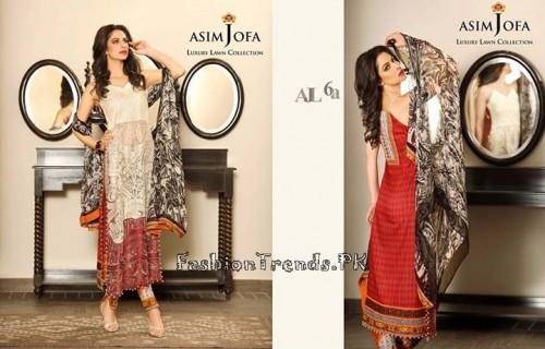 Asim Jofa Luxury Lawn Collection 2015 (24)