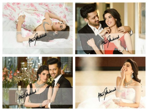 Atif Aslam And Saeeda Imtiaz Photoshoot For Damas Jewelers (1)