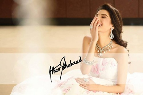 Atif Aslam And Saeeda Imtiaz Photoshoot For Damas Jewelers (6)