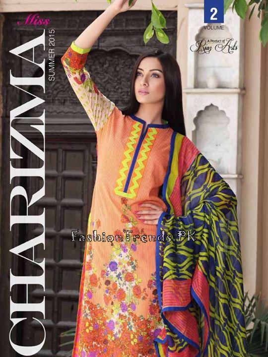 Charizma Summer Women Collection 2015 Volume 2