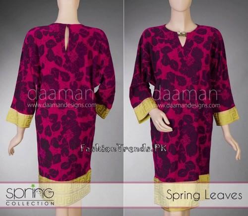 Daaman Summer Dresses 2015 (2)