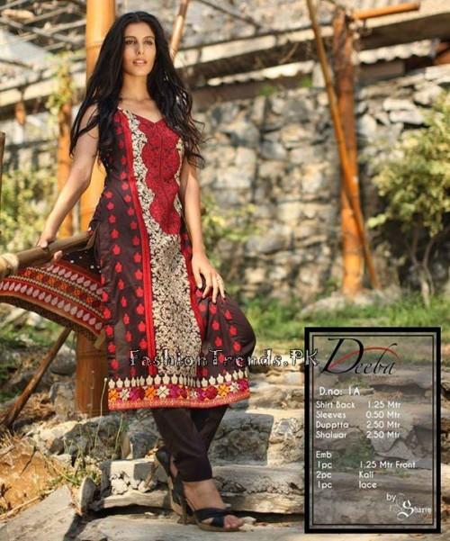 Deeba Premium Lawn Collection 2015 (1)