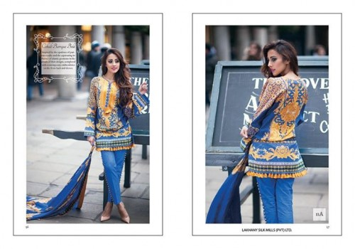 Farah Talib Aziz Lawn Collection 2015 by LSM (28)