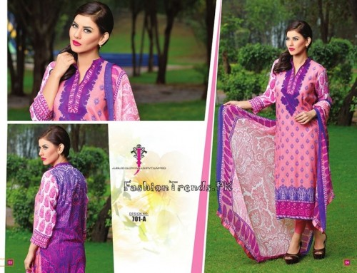 Jublee Cloth Mills Krinkle Lawn Collection 2015 (4)