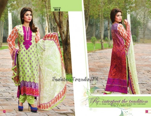 Jublee Cloth Mills Krinkle Lawn Collection 2015 (5)