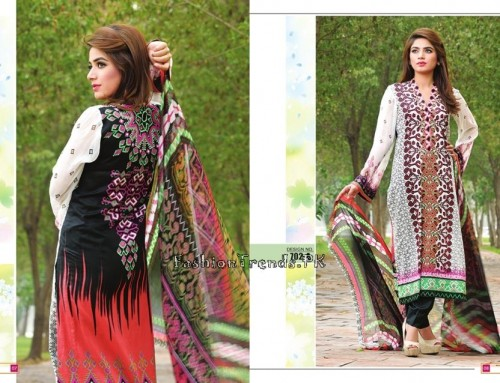 Jublee Cloth Mills Krinkle Lawn Collection 2015 (6)