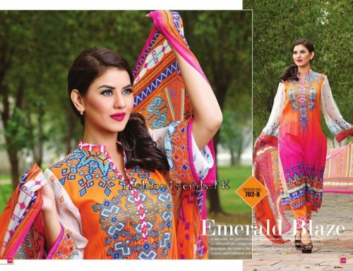 Jublee Cloth Mills Krinkle Lawn Collection 2015 (7)