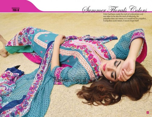 Jublee Cloth Mills Krinkle Lawn Collection 2015 (15)