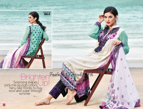 Jublee Cloth Mills Krinkle Lawn Collection 2015 (17)