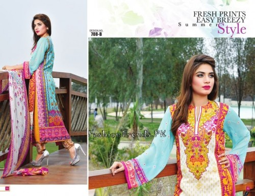 Jublee Cloth Mills Krinkle Lawn Collection 2015 (18)
