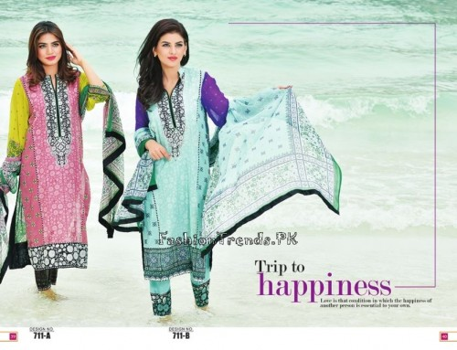 Jublee Cloth Mills Krinkle Lawn Collection 2015 (22)