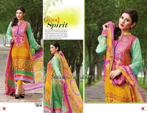 Jublee Cloth Mills Krinkle Lawn Collection 2015 (32)