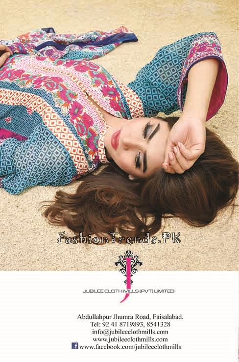 Jublee Cloth Mills Krinkle Lawn Collection 2015 (35)