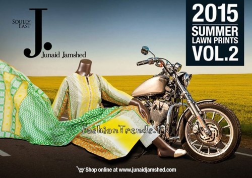 Junaid Jamshed Summer Collection 2015 (1)
