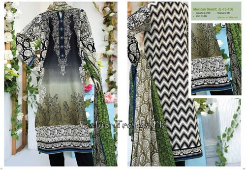 Junaid Jamshed Summer Collection 2015 (3)