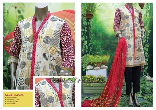 Junaid Jamshed Summer Collection 2015 (15)