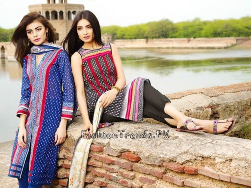 Khaadi Lawn Volume 2 Collection 2015 (1)