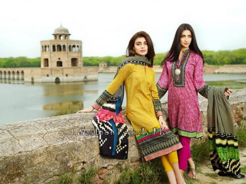 Khaadi Lawn Volume 2 Collection 2015 (3)