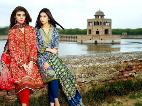 Khaadi Lawn Volume 2 Collection 2015 (4)